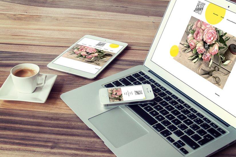 Büro Strebel Le Petit Jardin Webdesign
